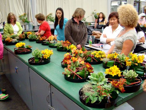 Где и что нужно для обучения на семинаре (тренинге) флористов