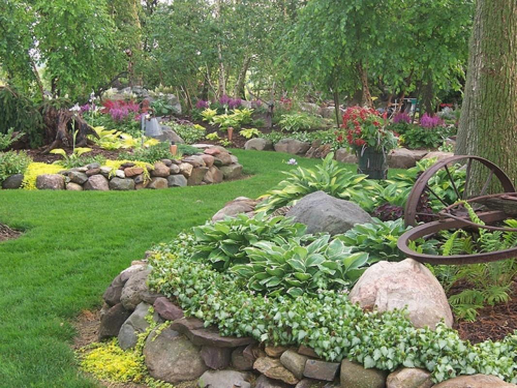 Мой сад и огород своими руками дизайн участка фото