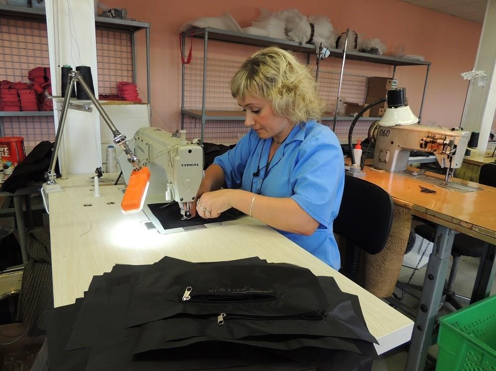 Фото работа по шитью