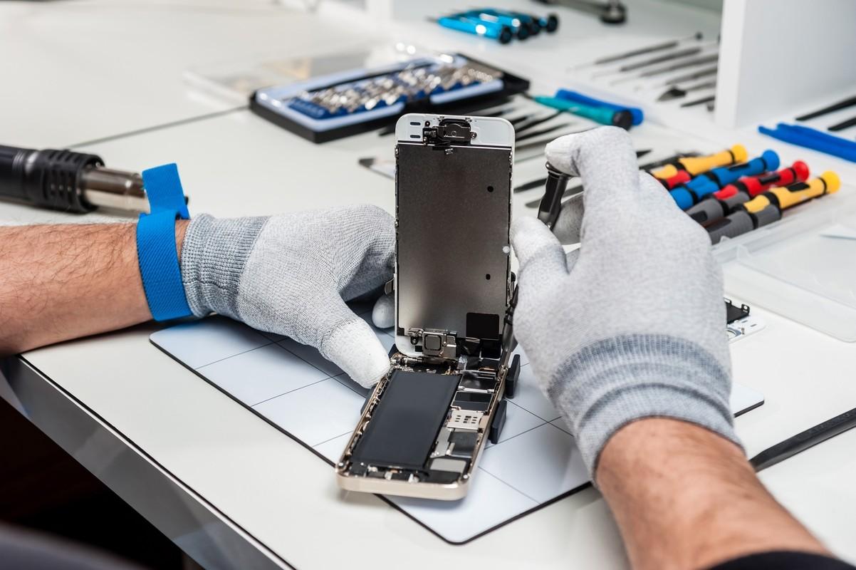 Фото из мобильников на ремонте